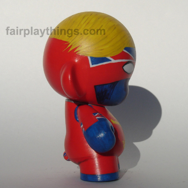 Captain Britain - side view