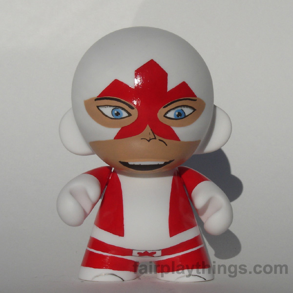 Captain Canuck - front view
