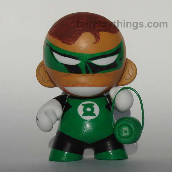 Green Lantern (Hal Jordan) with lantern