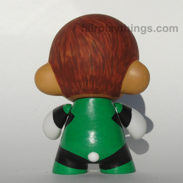 Green Lantern (Hal Jordan) - back view
