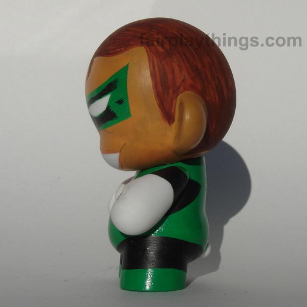 Green Lantern (Hal Jordan) - side view