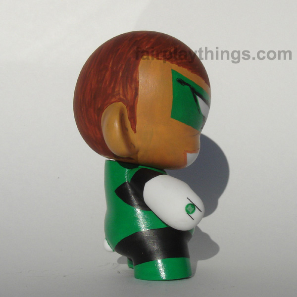 Green Lantern (Hal Jordan) - side view