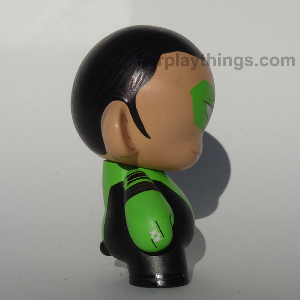 Green Lantern (Kyle Rayner) - side view