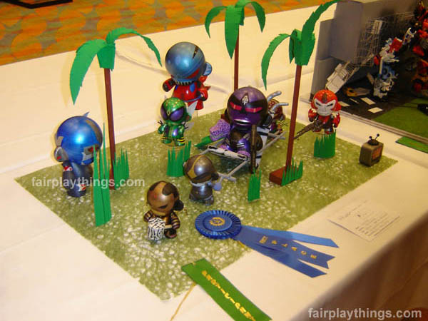 Call of the Wild - Best in Show (3D Diorama, Botcon 2008)