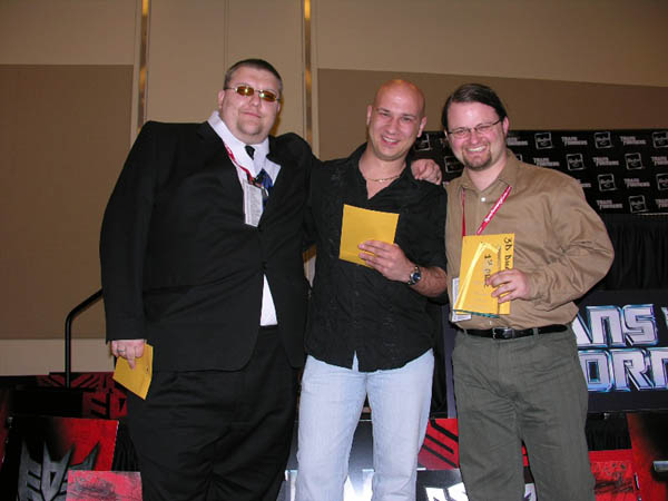 Presentation of Awards, Botcon 2008