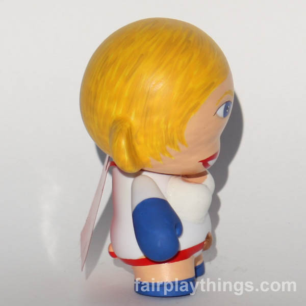 Power Girl - side view