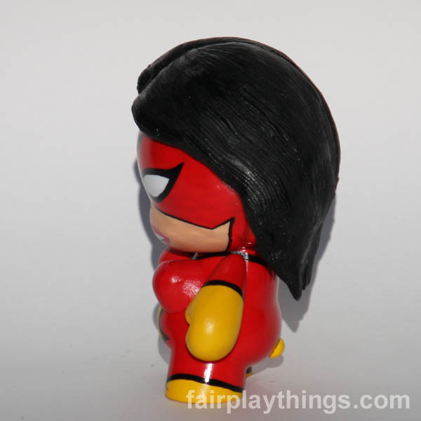 Spider-woman (red) - side view